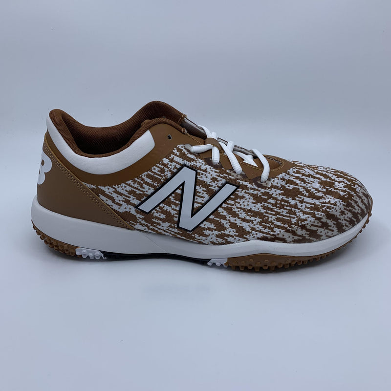 New Balance Men's T4040v5 Baseball and Softball Turf: Texas Orange at HB Sports with Fast Free Shipping