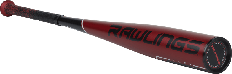 Angled Rawlings View - 2019 Rawlings 5150 (-10) Alloy Youth USA Baseball Bat:  US9510