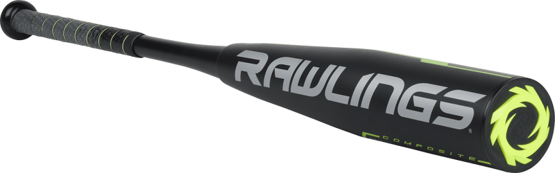 Angled Rawlings View: 2019 Rawlings Quatro Pro -12 Senior League Baseball Bat UT9Q12