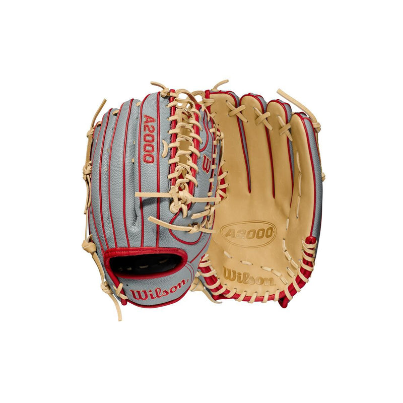 "2021 Wilson A2000 OT7SS 12.75"" SuperSkin Outfield Baseball Glove: WBW1001041275"
