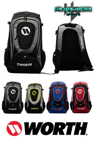 Worth Player Backpack Bat Bag: WORGBP