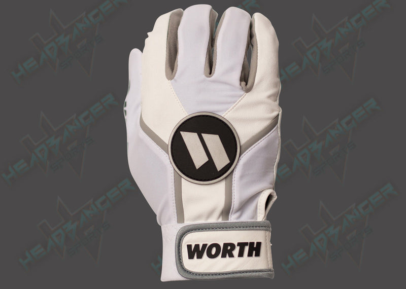Worth Team Batting Gloves - WBATGL-WHT