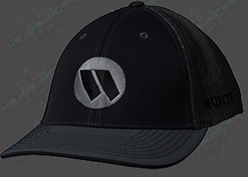 Worth Trucker Mesh Hat (Black/Charcoal) WTRUCK-BC