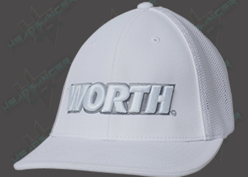 Worth Trucker Mesh Hat (White) WTRUCK-WHT