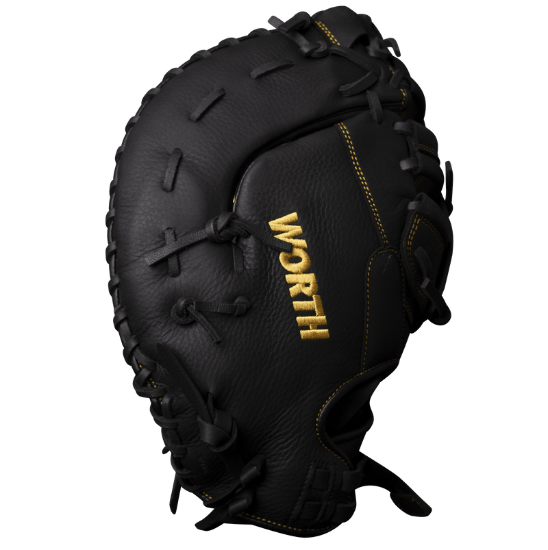 "Worth Player Series 13"" Slowpitch Softball First Base Mitt: WPL130-FB"