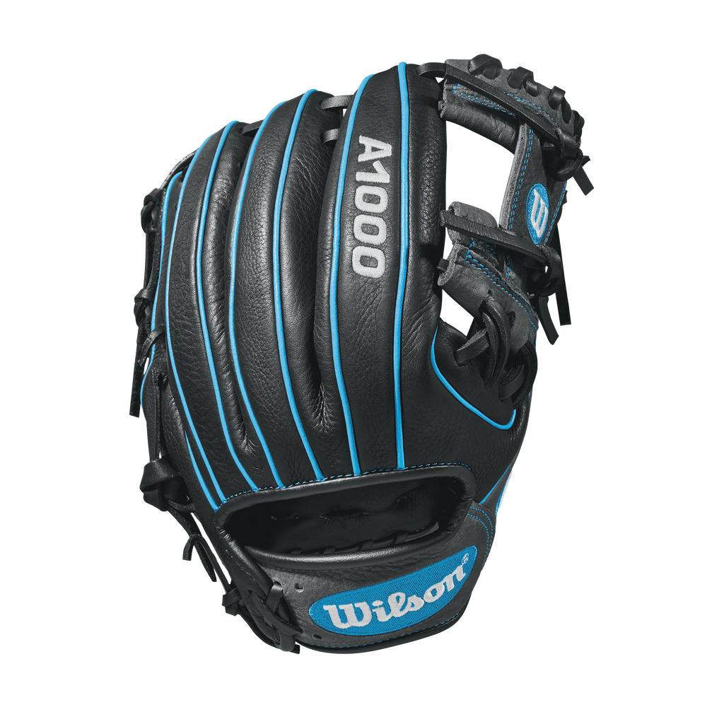 "Back view of 2018 Wilson A1000 11.25"" Baseball Glove: WTA10RB181788 at headbangersports.com"