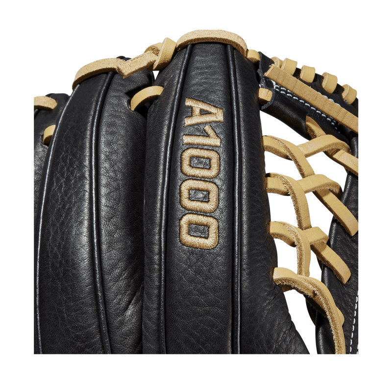 Wilson A1000 Black and Blonde Youth Baseball Glove