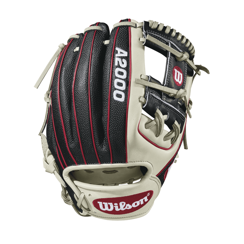 "Back Web View of 2018 Wilson A2000 SuperSkin 11.5"" Baseball Glove: WTA20RB181786SS"