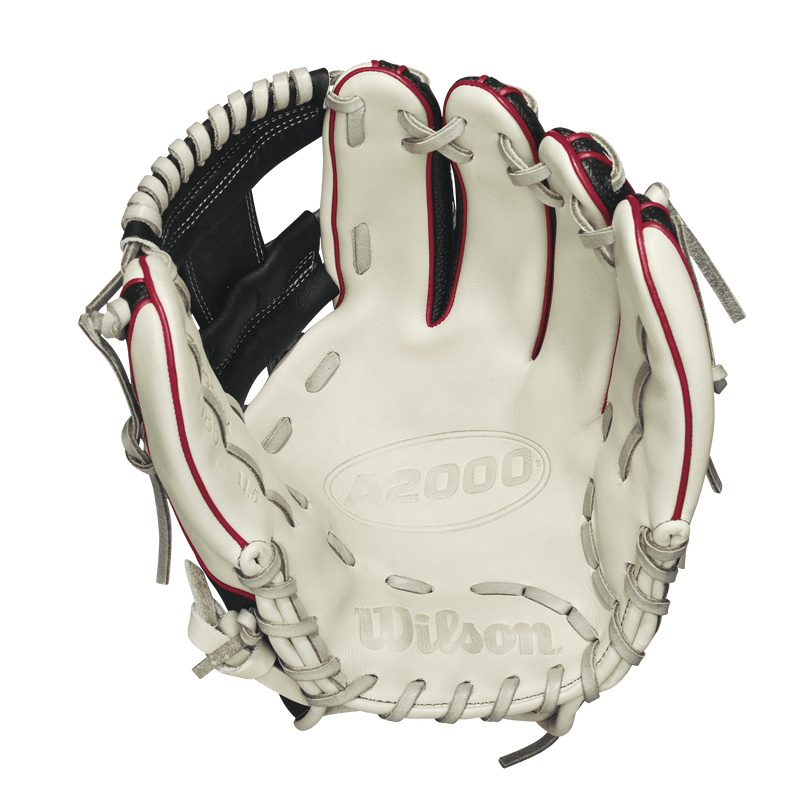 "Palm View of 2018 Wilson A2000 SuperSkin 11.5"" Baseball Glove: WTA20RB181786SS"