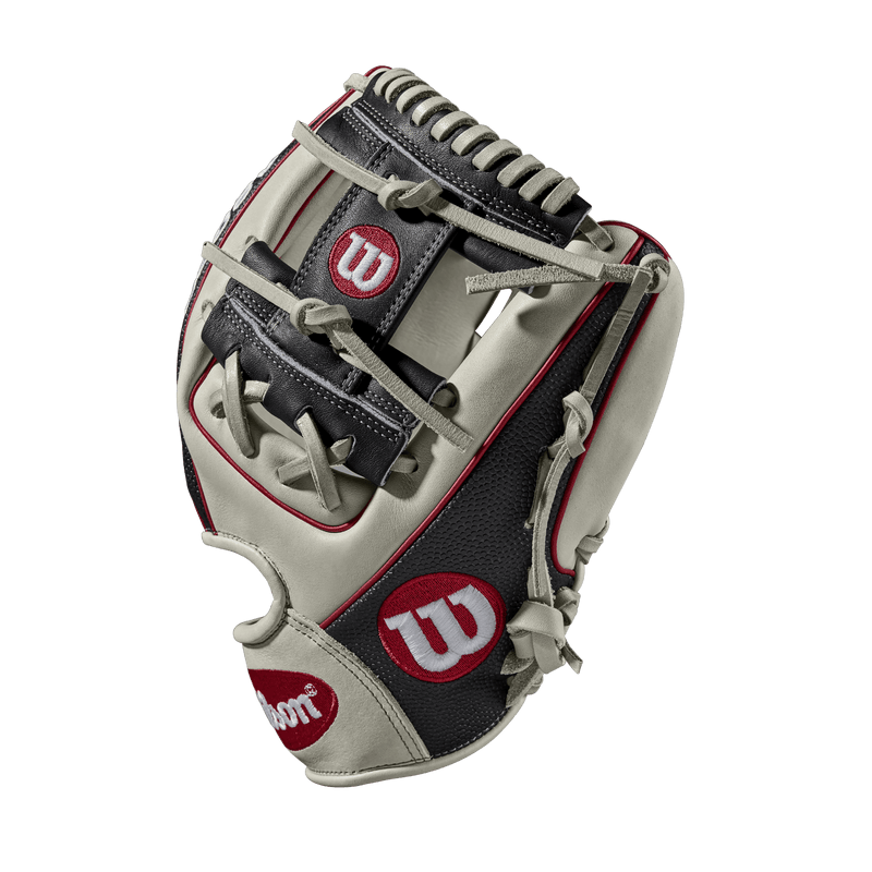 "Side Web View of 2018 Wilson A2000 SuperSkin 11.5"" Baseball Glove: WTA20RB181786SS"