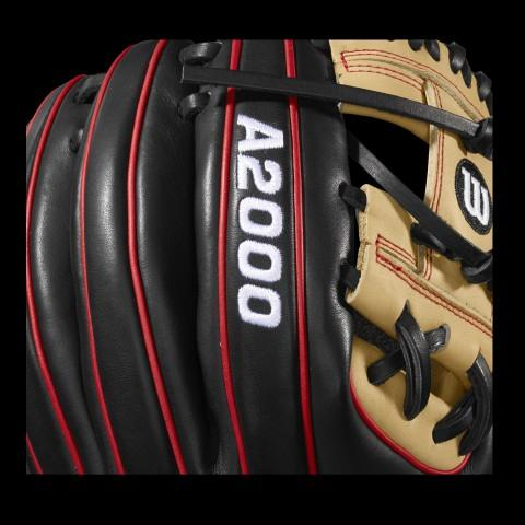A2000 Logo on Wilson Baseball Glove