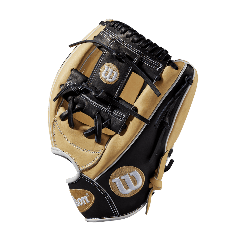 "Side Web view of 2019 Wilson A2000 11.75"" Baseball Glove: WTA20RB191787"