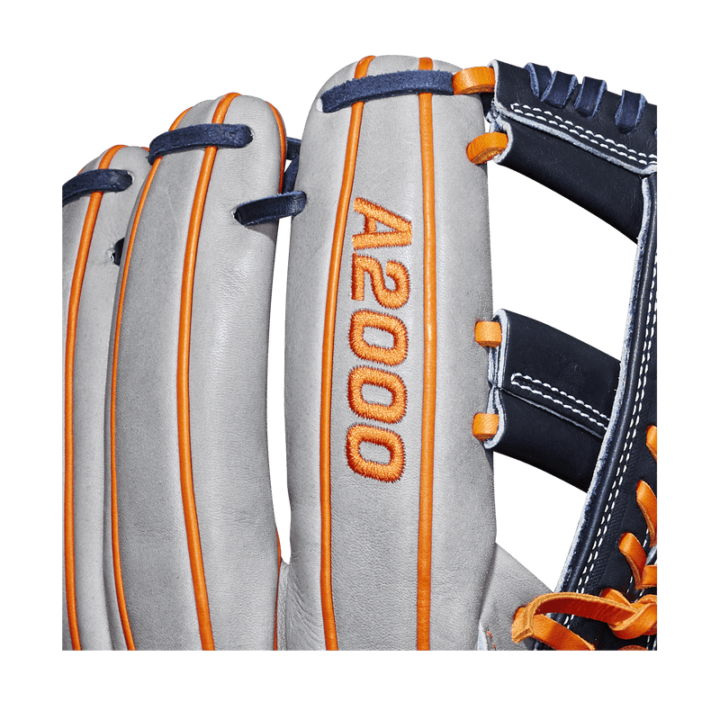 "A2000 Logo on 2019 Wilson A2000 Carlos Correa 11.75"" Baseball Glove: WTA20RB19CC1GM"