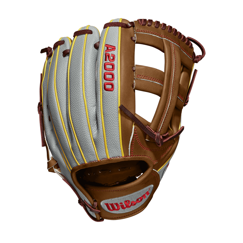 "Wilson A2000 Pedroia Fit 11.75"" Dustin Pedroia Baseball Glove: WTA20RB19DP15GM at headbangersports.com"