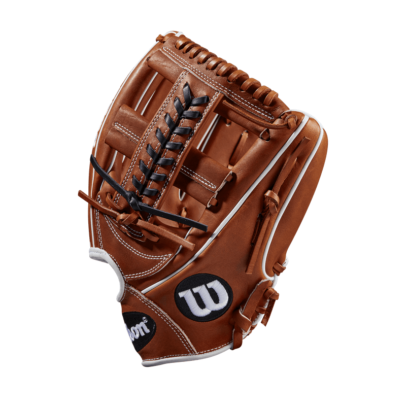 Copper and White Pro Stock Leather