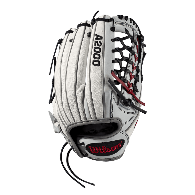 "Back Web view of 2019 Wilson A2000 SuperSkin 12.5"" Fastpitch Softball Glove: WTA20RF19T125SS"