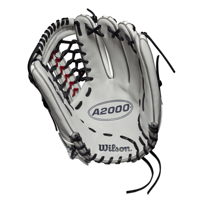 "Palm View of 2019 Wilson A2000 SuperSkin 12.5"" Fastpitch Softball Glove: WTA20RF19T125SS"