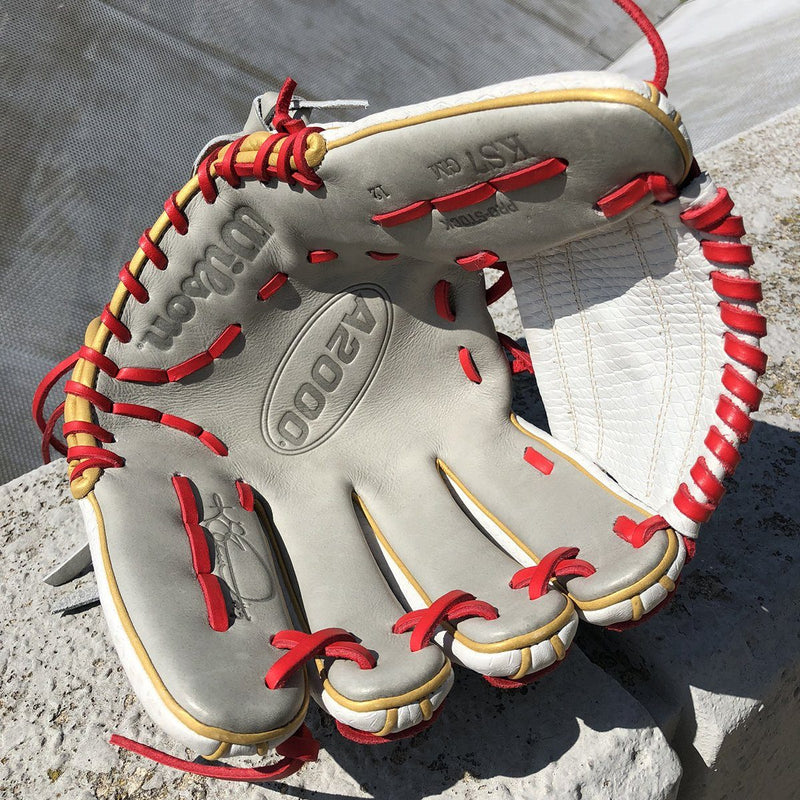"Wilson A2000 12"" Kelsey Stewart Fastpitch Softball Glove: WTA20RF20KS7GM"