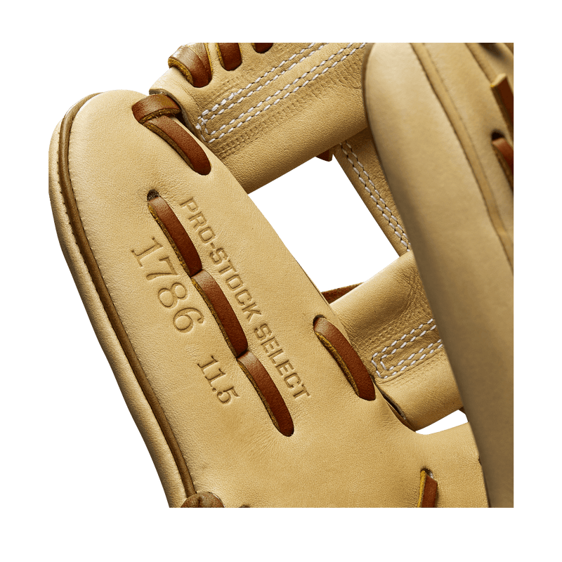 1786 Pro Stock Leather on the new 2020 Wilson 1786 Baseball Glove