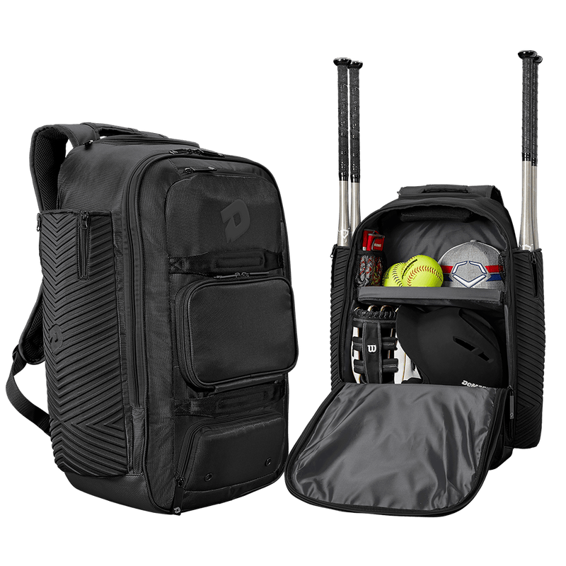 Black DeMarini Special Ops Spectre Backpack: WTD9410