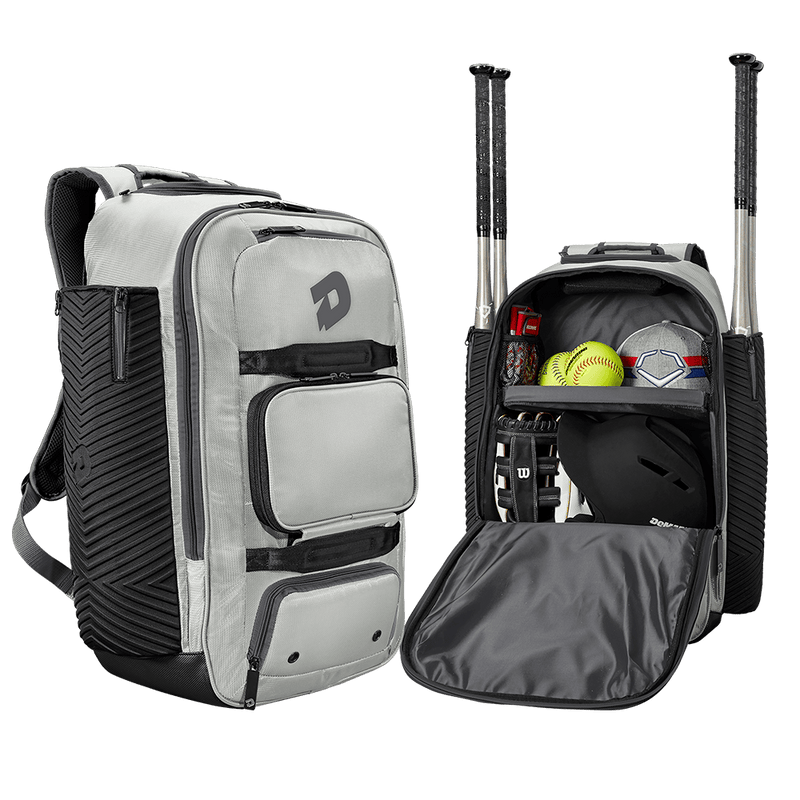 Silver and Grey DeMarini Special Ops Spectre Backpack: WTD9410