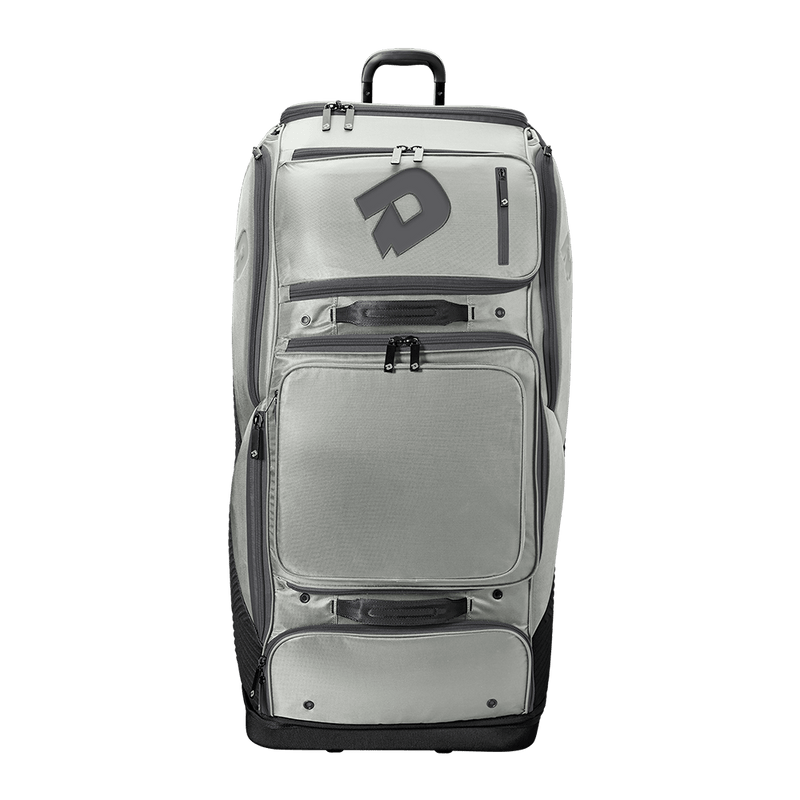 Silver/Grey DeMarini Special Ops Spectre Wheeled Roller Bag: WTD9412