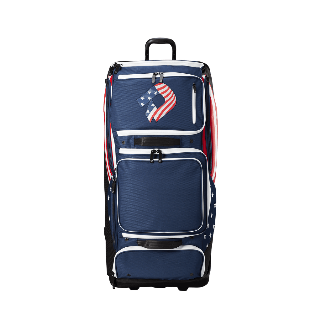 DeMarini Special Ops Spectre USA Wheeled Roller Bag: WTD9412US
