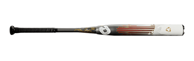 DeMarini Logo View of 2020 DeMarini FNX Rising (-8) Fastpitch Softball Bat: WTDXPHP at headbangersports.com