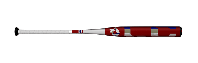 "2020 DeMarini Larry Carter ""RED"" Signature Series Senior Slowpitch Softball Bat: WTDXSNM-20"