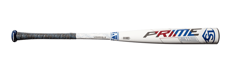 Prime Side View - 2019 Louisville Slugger Prime 919 BBCOR Baseball Bat: WTLBBP919B3
