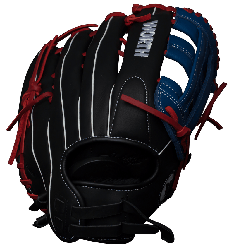 "Worth XT Extreme 13.5"" Slow Pitch Softball Glove: WXT135-PH at headbangersports.com"