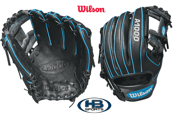 "2018 Wilson A1000 11.25"" Baseball Glove: WTA10RB181788 at headbangersports.com"