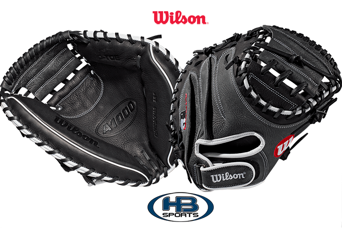 "2019 Wilson A1000 33"" Catcher's Mitt: WTA10RB19CM33 at headbangersports.com"