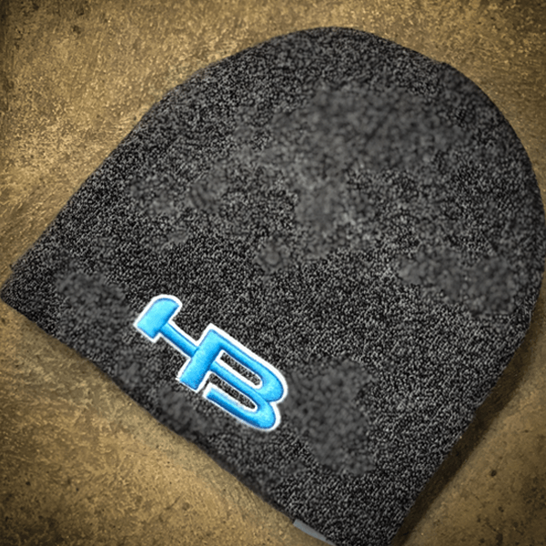 HB Sports Classic Skull Cap Beanie Winter Hat: Columbia Blue