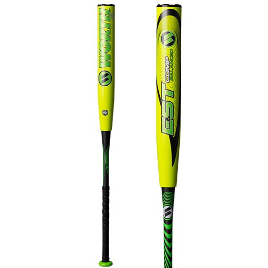"2018 Worth 12.5"" ASA EST COMP Balanced Softball Bat: WCE12A"