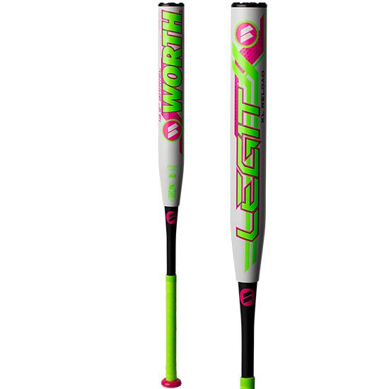 "2019 Worth Legit Watermelon XL Reload USSSA 13.5"" Slowpitch Softball Bat: WMELON at headbangersports.com"