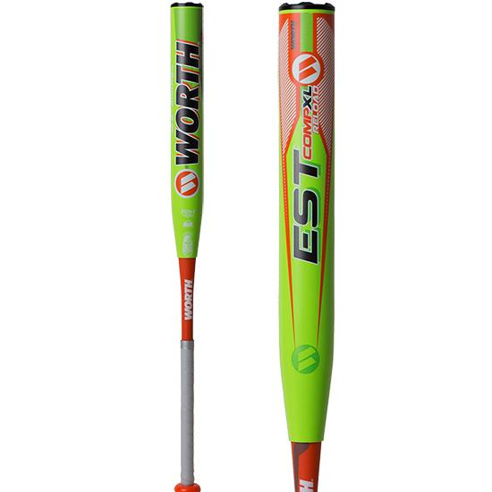"2019 Worth EST Comp USSSA XL Reload 13.5"" Slowpitch Softball Bat: WE19MU at headbangersports.com"