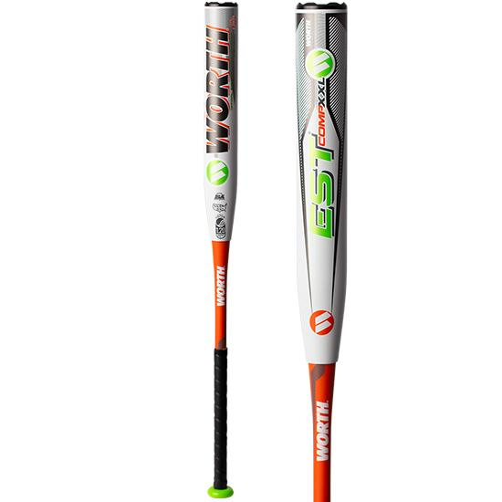 "2019 Worth EST 12.5"" XXL USSSA Slowpitch Softball Bat: WEXXLU at headbangersports.com"