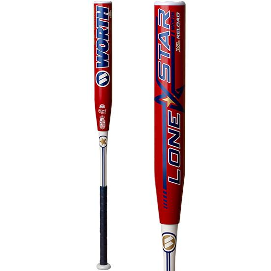 "2019 Worth Lone Star 12.5"" XL Reload USSSA Slowpitch Softball Bat: WLNSTU at headbangersports.com"