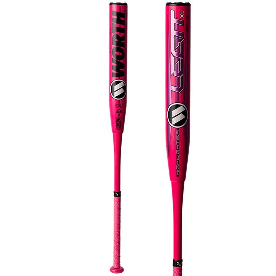 "2020 Worth LEGIT XL Highlighter USSSA 12.5"" Slowpitch Softball Bat: WHS12U at headbangersports.com"