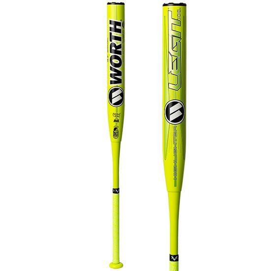 "2020 Worth LEGIT XXL Highlighter USSSA 13.5"" Slow Pitch Softball Bat: WHS14U at headbangersports.com"