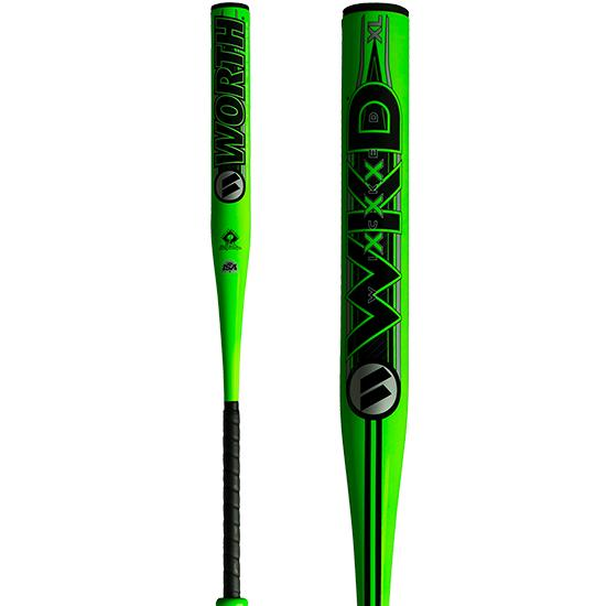2019 Worth Wicked XL 13.5″ SSUSA Senior Slowpitch Softball Bat: WWICKD at headbangersports.com