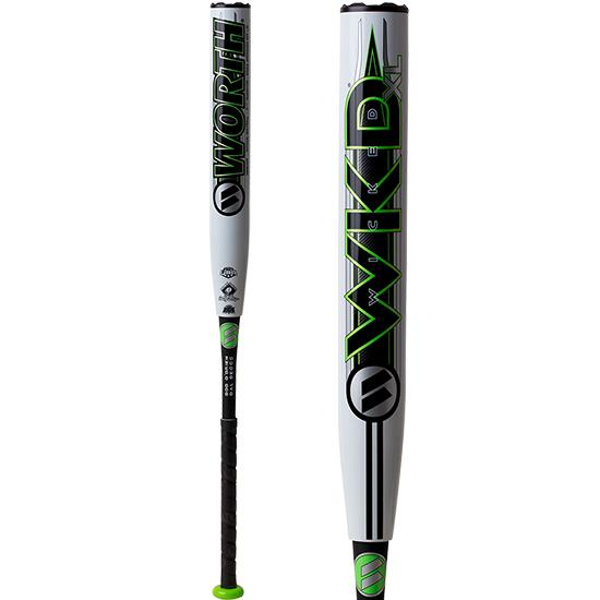 "2019 Worth Wicked XL 13.5"" Pro Edition SSUSA Softball Bat: WWKD2P at headbangersports.com"