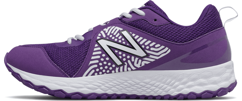New Balance Men's T3000V5 Baseball and Softball Turf: Purple and White
