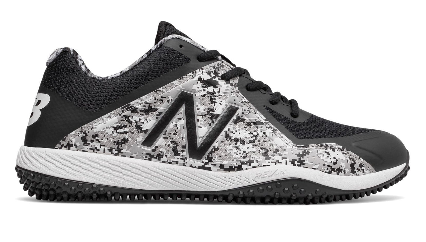 Youth Models; Dustin Pedroia New Balance Camo, Black, and White Mens 4040  V4 (t4040pk4) ...