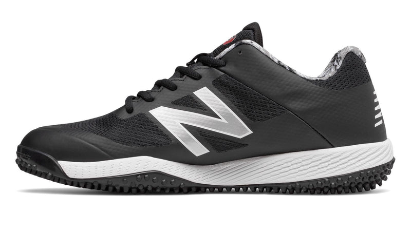 Dustin Pedroia New Balance Camo, Black, and White Mens 4040 V4 (t4040pk4) Softball and Baseball Turf at Headbangersports.com.  Youth Models Available