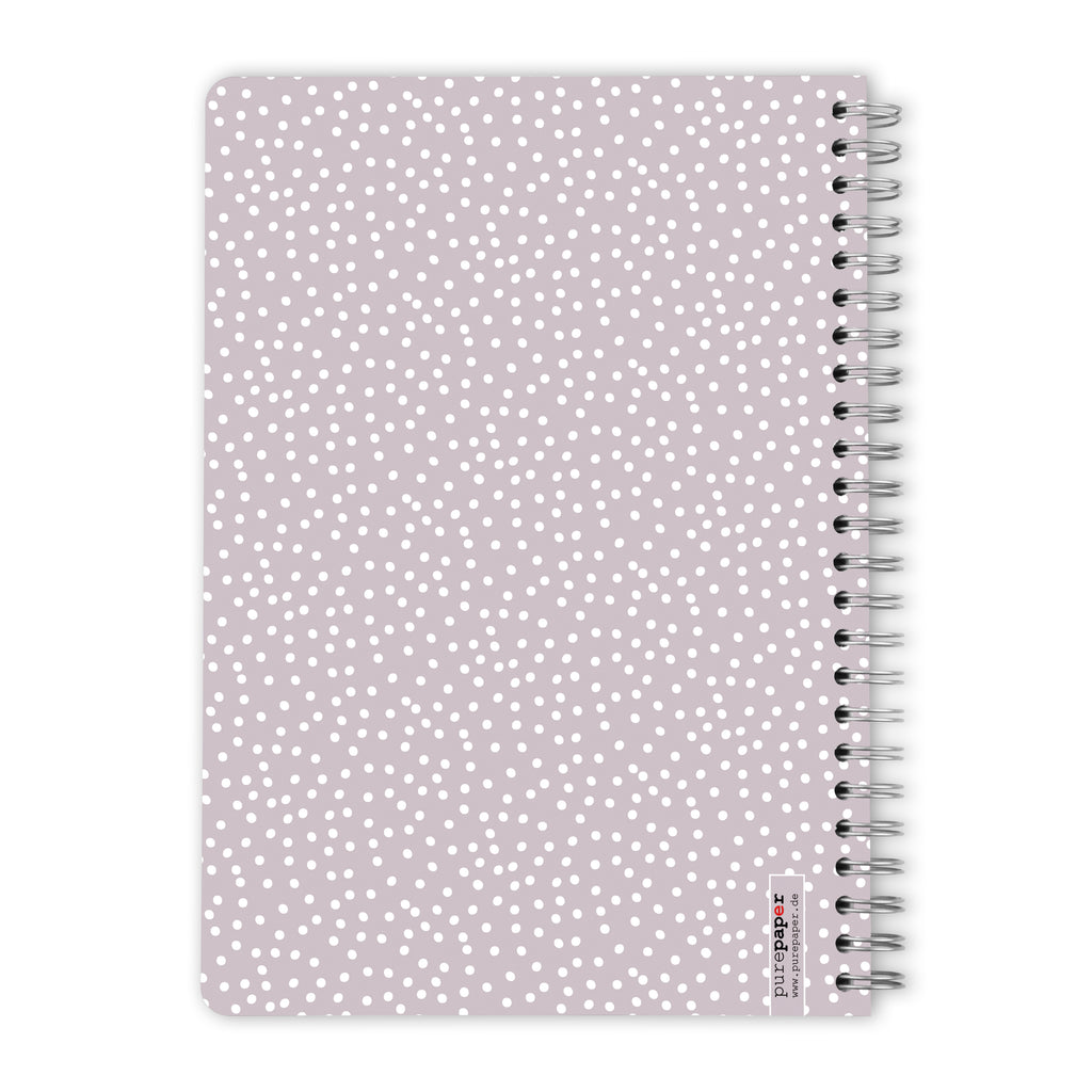 #013 Taupe With Dots – 60 Blatt