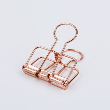 Papier Clips Rose Gold