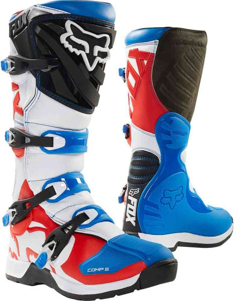 Fox Comp 5 Blue/Red Boots