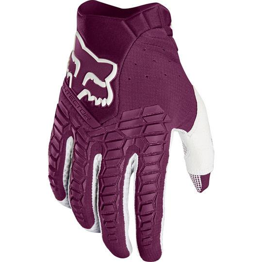 Fox Pawtector Race Purple Gloves - MC AUTO
